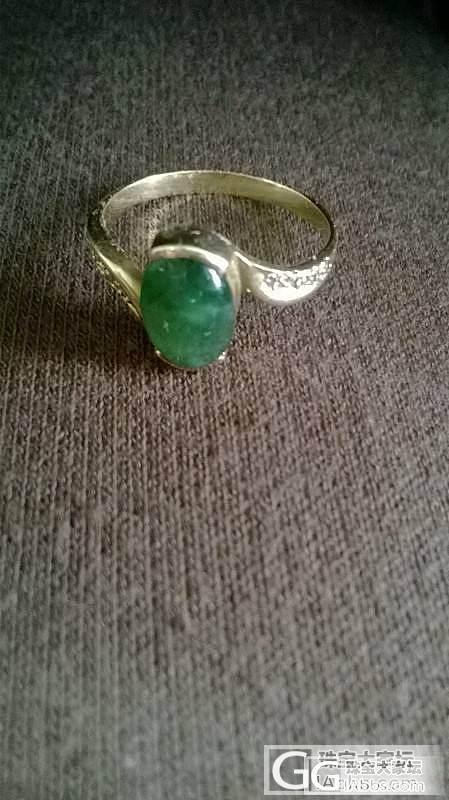 A翡翠戒指和项链坠_翡翠