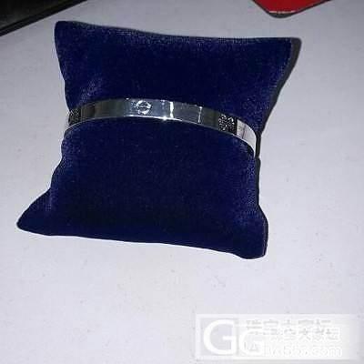 全新仿卡地亚开口银手镯仅售180元(..._银