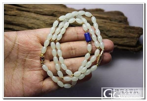 【特价】籽料米珠项链_传统玉石
