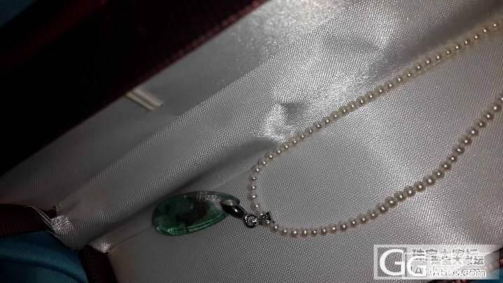 前天团昨天就收到的2.5mm珍珠链子..._工艺