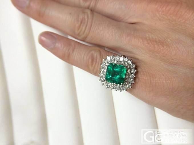 来一颗正点的祖母绿~_祖母绿