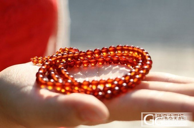 发一发我入手的橙红色石榴石!_石榴石