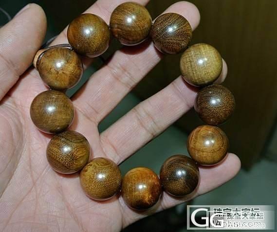麻梨疙瘩2.0CM手串 老料 水波纹 牛毛纹 送2颗珠子和1个佛塔_珠宝