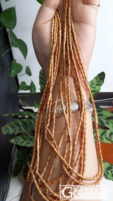 橄榄竹节,百搭吊坠绳_传统玉石