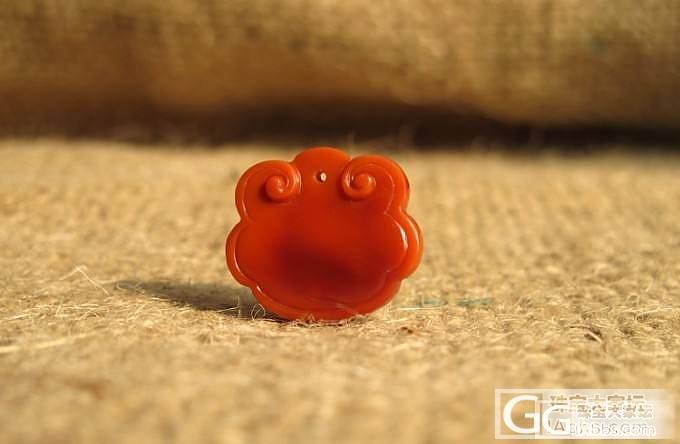 姿涵的石头—南红精致宝宝锁 喜好者快快行动吧!_传统玉石