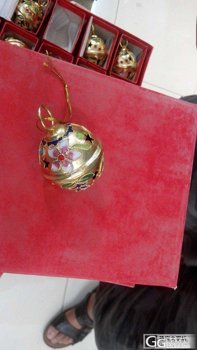 上次的景泰蓝铃铛没有买到的MM看过来,新加了其他小物铃铛,可以一起团,新增金色铃铛_品质生活
