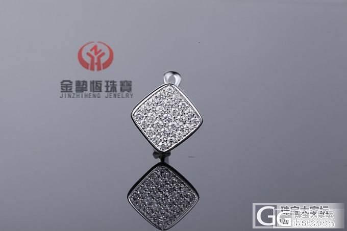 【金挚恒珠宝】18K金50分南非钻石耳环(现货)_金挚恒珠宝镶嵌