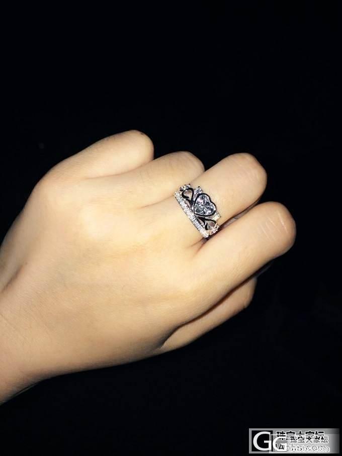 得之不易,我的一卡钻石心 最终版----皇冠上手火彩照_钻石