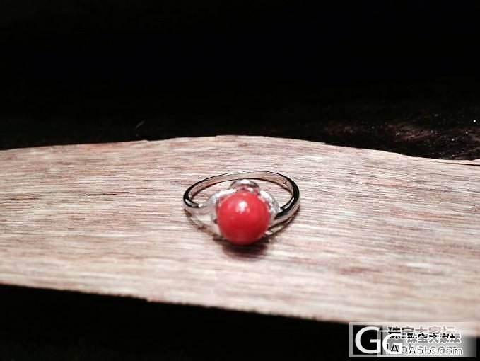 几个日本工艺的戒指大家欣赏_珊瑚