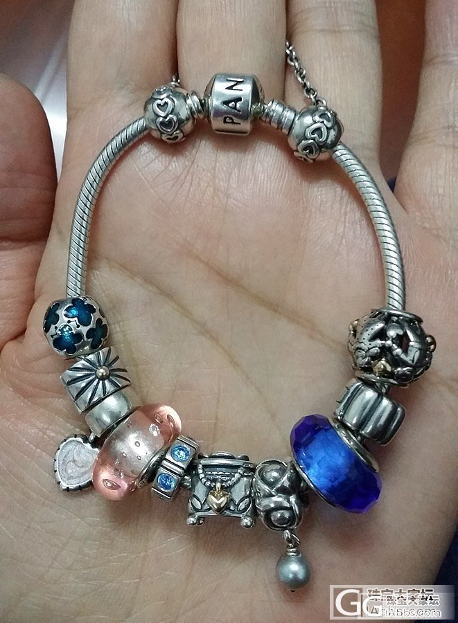 Pandora——整链全出,珠子也可单出。_银