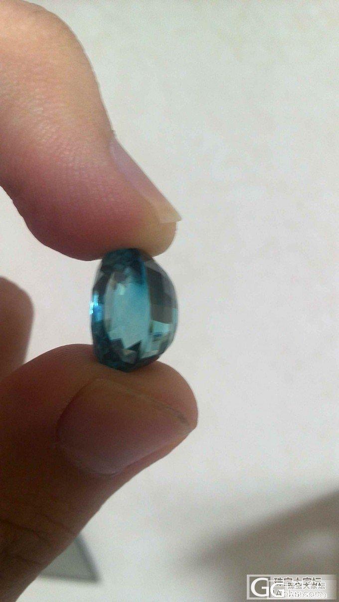 已入大克拉风信子,加超渣的图_少见宝石刻面宝石