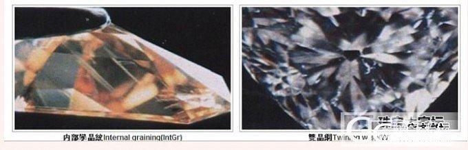 GIA的净度特徽(各种瑕疵的情况)_钻石