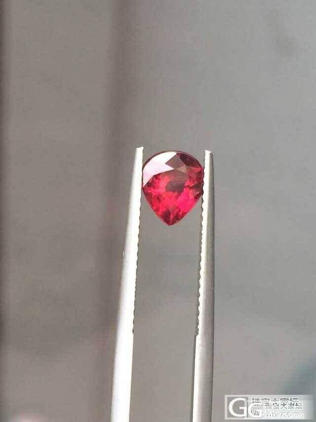 新入一粒1.5CT红宝石 无烧鸽血,..._珠宝