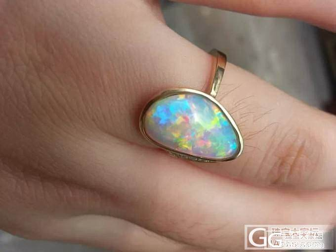 我的欧泊戒指_欧泊刻面宝石