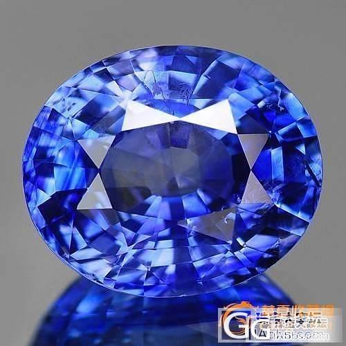 鉴赏:【斯里兰卡蓝宝石】收藏级6.35克拉蓝宝石_珠宝