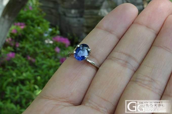 斯里兰卡产无烧皇家蓝蓝宝石 Royal Blue Unheat_珠宝