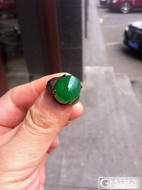 一块料的2个老坑大绿蛋。_翡翠