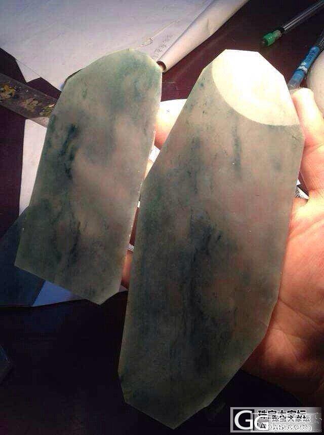 七月缅甸标的石头,原石到手镯起光效果_翡翠半成品