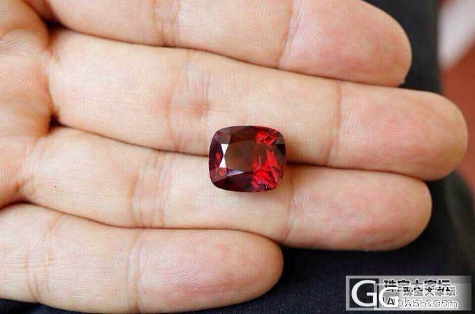 大家看10ct超大鸽血红尖晶小六价格..._尖晶石刻面宝石