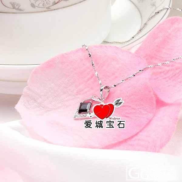 【爱城宝石】白金碧玺吊坠-灵气蛇_宝石