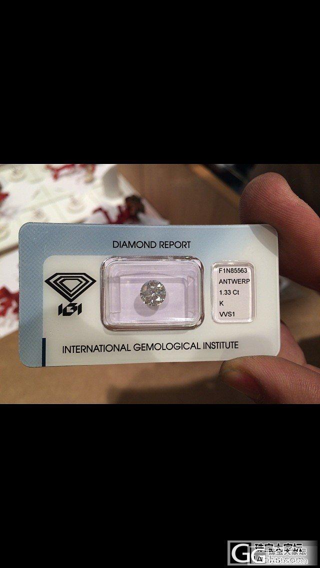 大家帮忙看看~这价格值得入吗_钻石