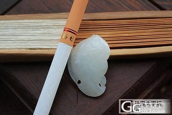 【函玉阁】和田玉 青海料神仙鱼  雕件吊坠挂件_传统玉石
