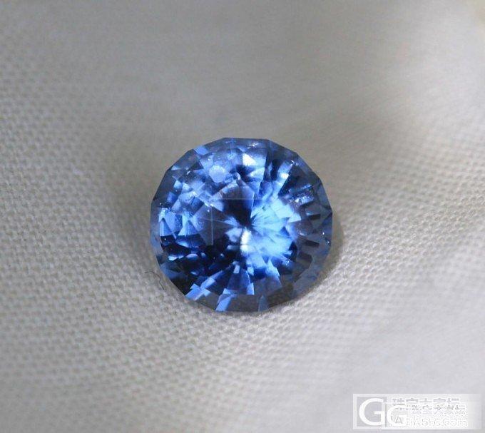 蓝尖晶。看切割看颜色。_尖晶石刻面宝石