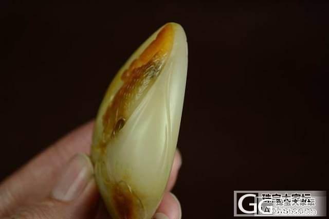 和田玉 支持复检 正品保真 鲜亮黄油..._传统玉石