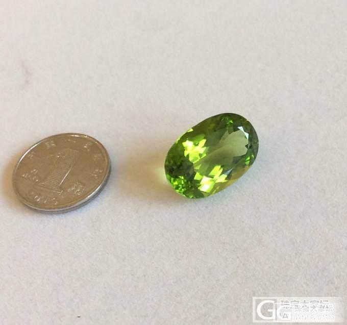 橄榄石刻面_宝石