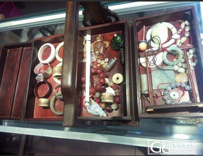 以前用来装文房四宝的提盒,现在用来装..._和田玉