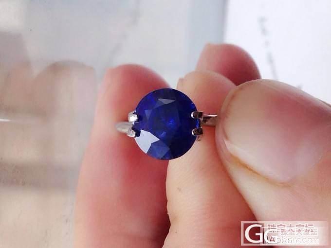 美艳的蓝宝石保证你目光离不开它_宝石