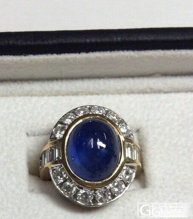 这颗12克拉素面蓝宝大家觉得质量怎么..._蓝宝石