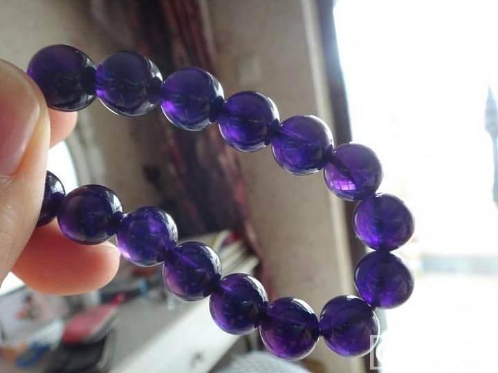 转个玉兰吊坠+紫水晶手链+DIOR香水三小样_金