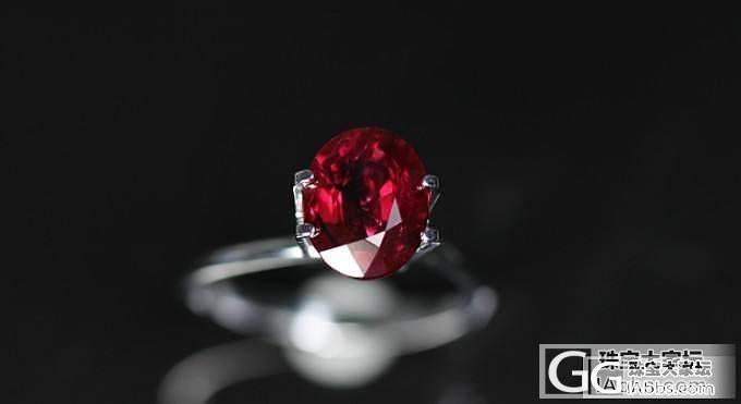【忆宝】3CT+缅甸无烧红宝石裸石_宝石
