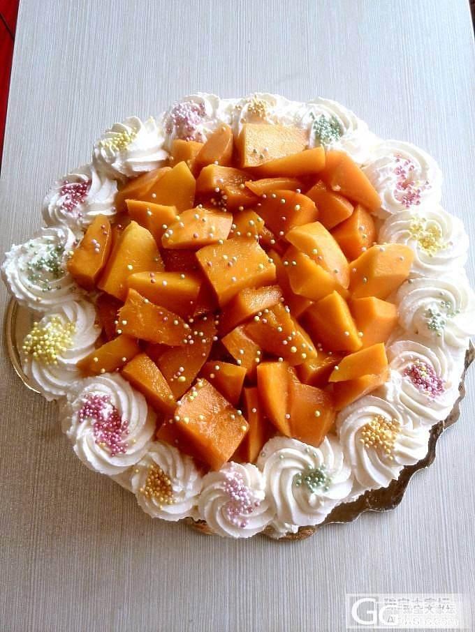 无题的厨房——芒果奶油蛋糕_美食