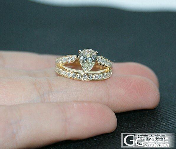 大爱这款水滴型钻石戒指,你也一定喜欢_钻石