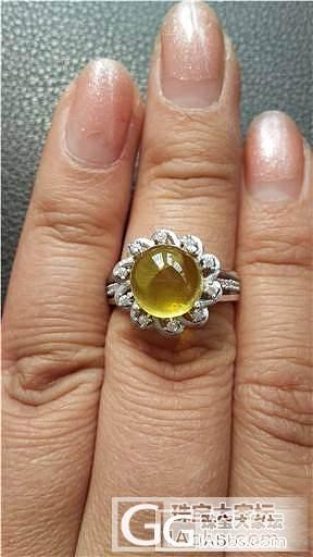晒晒我新作的戒指和吊坠~霍霍霍~~_珠宝