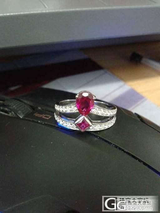 亲爱的,你的尚美戒指做好了!_珠宝