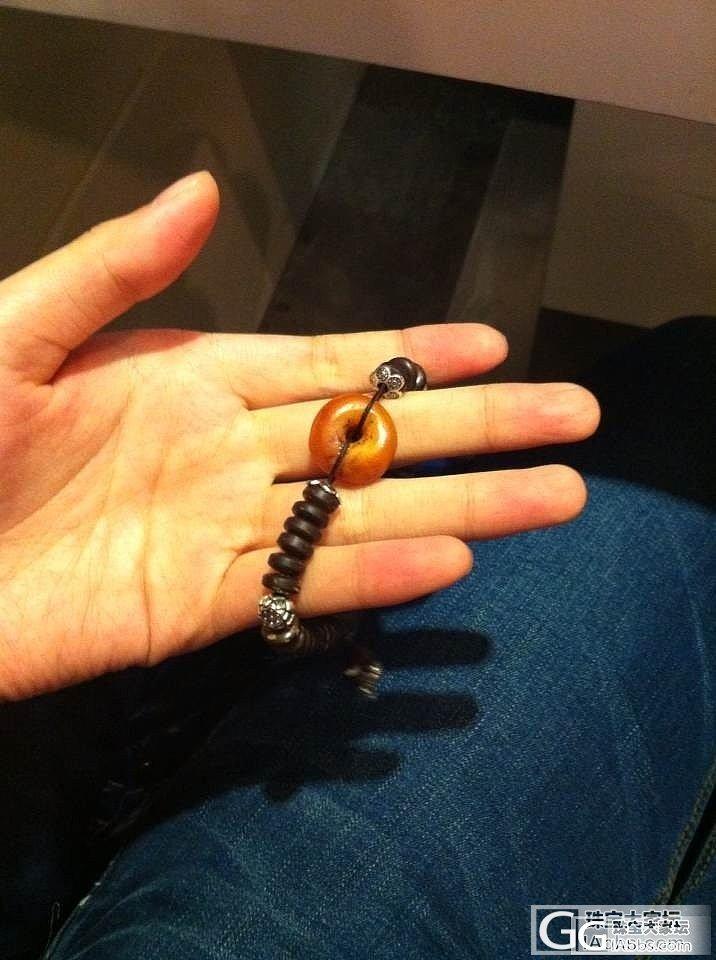 老蜜蜡配椰壳手链,超值了!!_有机宝石