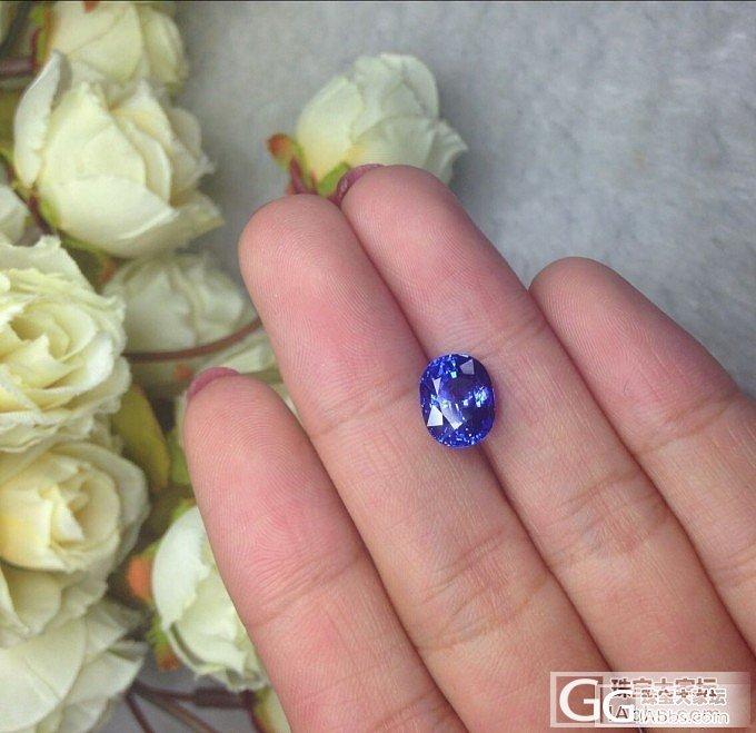 【瑞意邦珠宝】——3.66克拉小精品坦桑裸石_瑞意邦珠宝