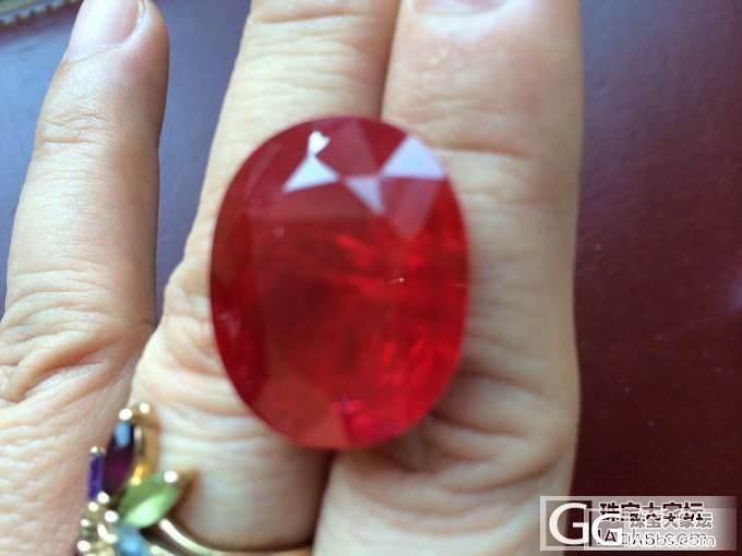 请各位帮忙看看这是什么东东_红宝石