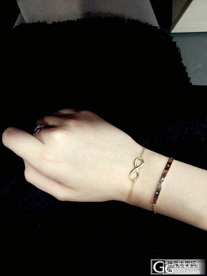 怎么把Tiffany手镯链 变成 手..._手链金