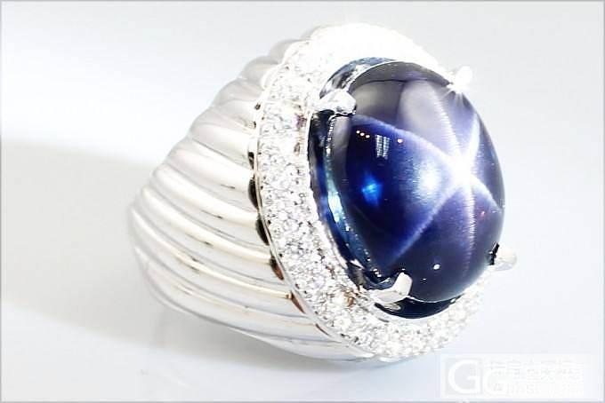 一个填充改色的皇家蓝蓝宝石_名贵宝石