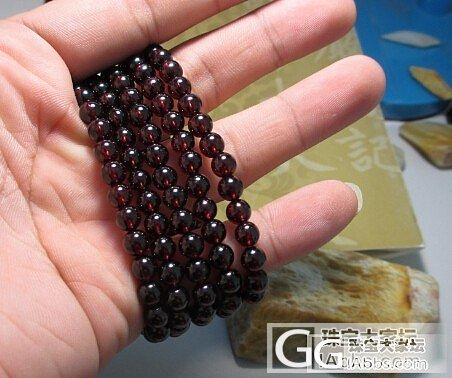 酒红色石榴石 6毫米净度较高_石榴石