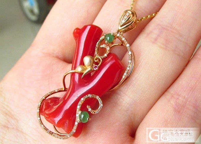 【彩石记】18k玫瑰金钻石镶嵌吊坠_宝石