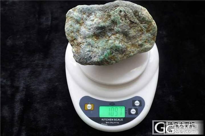 大家帮我看看这个原石什么情况?_翡翠半成品