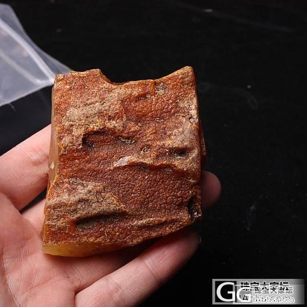 发一个绿度母的加工过程给大家看吧,从原石到成品_蜜蜡