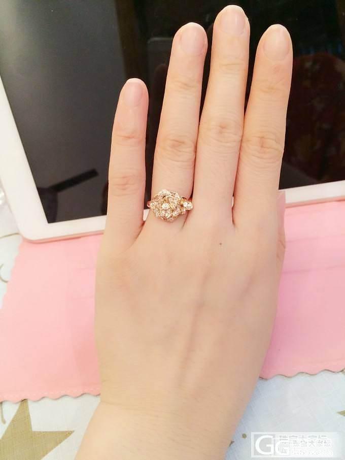 10月2号给自己的生日礼物-伯爵玫瑰..._钻石