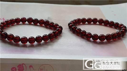 酒红石榴石,40cm长链,单圈都有_宝石