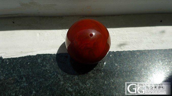 请教:这个南红珠子什么料子?1400..._南红